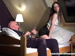 Passionate evening love making between and ancient perv and Arwen Gold