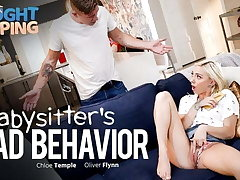 Caught Fapping - Babysitter Lemon - Gets Creampied