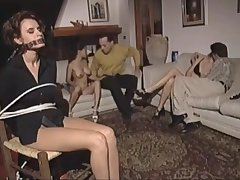 Hot young girls Wanda, Peggy with an increment of Lydia fucked hard