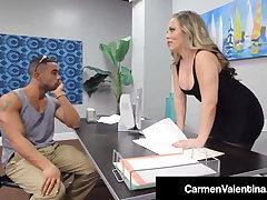 Sweet Pussy Carmen Valentina Dark Dicked By Big Nefarious Cock!