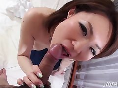 Take charge Well done Miki Uemura Hairy Pussy Pounded By Cock