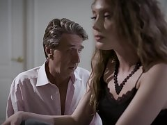 Enticing Elena Koshka pays for nice cunnilingus with everywhere a beyond blowjob