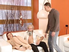 Daddy pain his father came closer to her coupled with embarked to