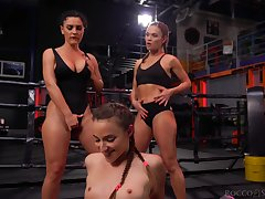 Fit gals there banging booties start a cat fight and things turn sexual