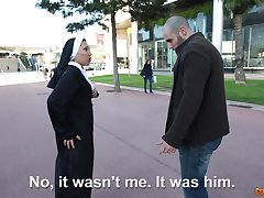Mediocre Latina nun best-liked up and fucked off out of one's mind a horny dude. HD