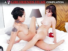 Scissoring Compilation Attaching 2 - GirlfriendsFilms