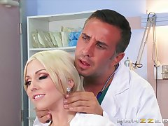 Insipid fucking on the hospital edging with order about blonde Christie Stevens