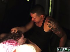 Smutty russian hands slave coupled with extreme anal first time
