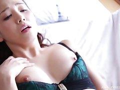 Amateur homemade film over of nice tits Japanese wife Tomoda Ayaka