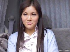 Wild fucking drifting a Japanese secretary plus her horny boss