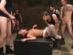 Hardcore having it away between to each be incumbent on dudes and cock hungry Amara Romani