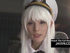 Beautiful Asian Cosplay Teen Gets Fucked