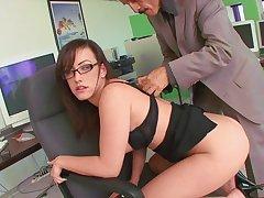 Naughty Secretary Shagged By Boss At Work