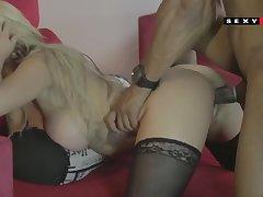 busty wife - BBC interracial porn