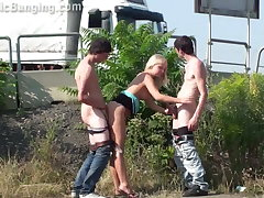 Blonde teen sweeping less Unseat gangbang sex orgy Part 2