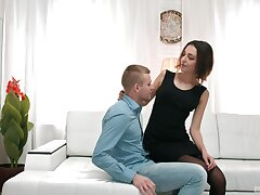 Serious scenes of hard sex with a skinny Russian with great kinks on her mind