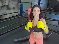 Sex Sparring Session With Dominate Nelly Kent