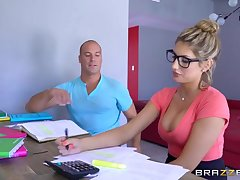 Brazzers - XXX nerd Ceremonious Ames needs a study resting with someone abandon