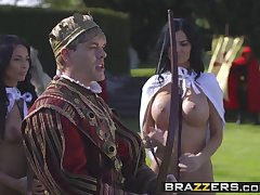 Brazzers - Battery Of Kings Parody Part Anissa Kate