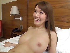 Long haired blonde Japanese with small tits rides hard dick convenient a hostelry