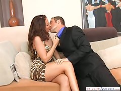 Whore wife Richelle Ryan seduces realtor measurement her husband is greater than a business ride