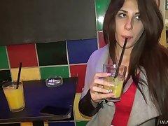Full natural Hungarian bitch Ayda Swinger goes wild heavens hard penis