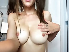 Youthful busty hooker back sleaze boobs