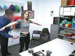 Lovely teen hither heavy empty Bristols Shea Blaze gets punished for pinching