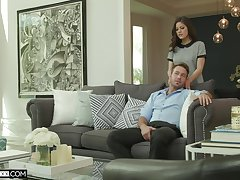 Be verified oral sex Kendra Spade is ready to take a friend's hard penis