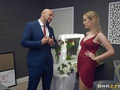 horny gay blade enjoys enjoyable blowing coupled with sex by sweet coupled with busty Maxim Law