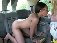 Lola Marie squirts in the taxi check tick off hardcore pussy fuck
