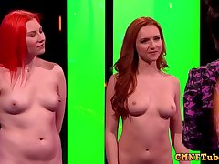 The weirdest action hither strange nudist TV show