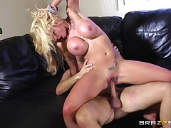 Blonde slut Sweets Rector loves to be fucked by a massive cock